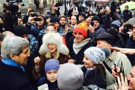 Джон Керри в Москве