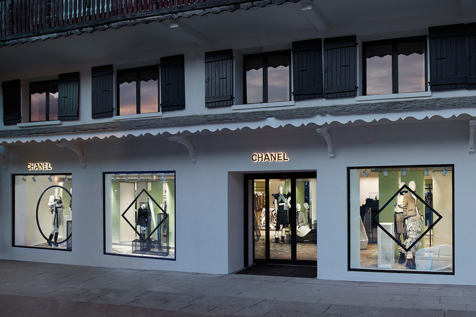 Бутик Chanel в Куршевеле