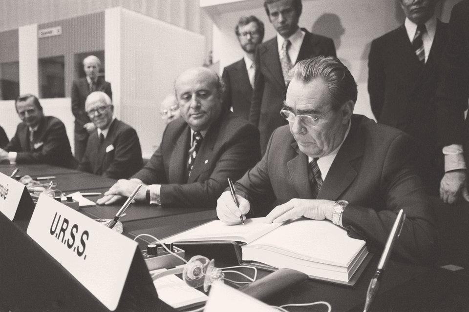 Хельсинкское соглашение 1975 г.– фундамент европейского миропорядка