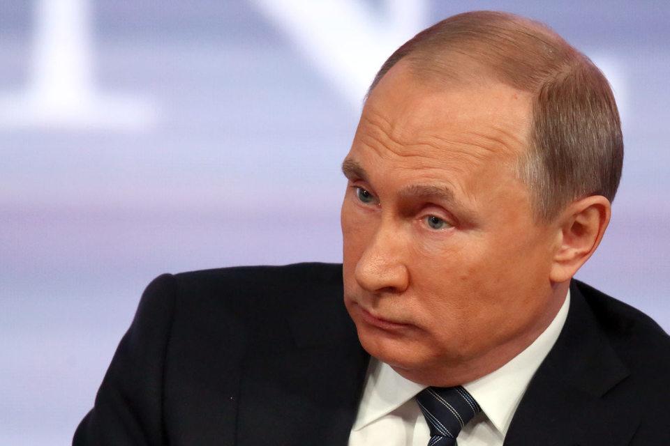 По мнению Путина, позиция Брюсселя и Вашингтона в отношении Украины связана не с защитой интересов Киева, а с попыткой помешать воссозданию Советского Союза