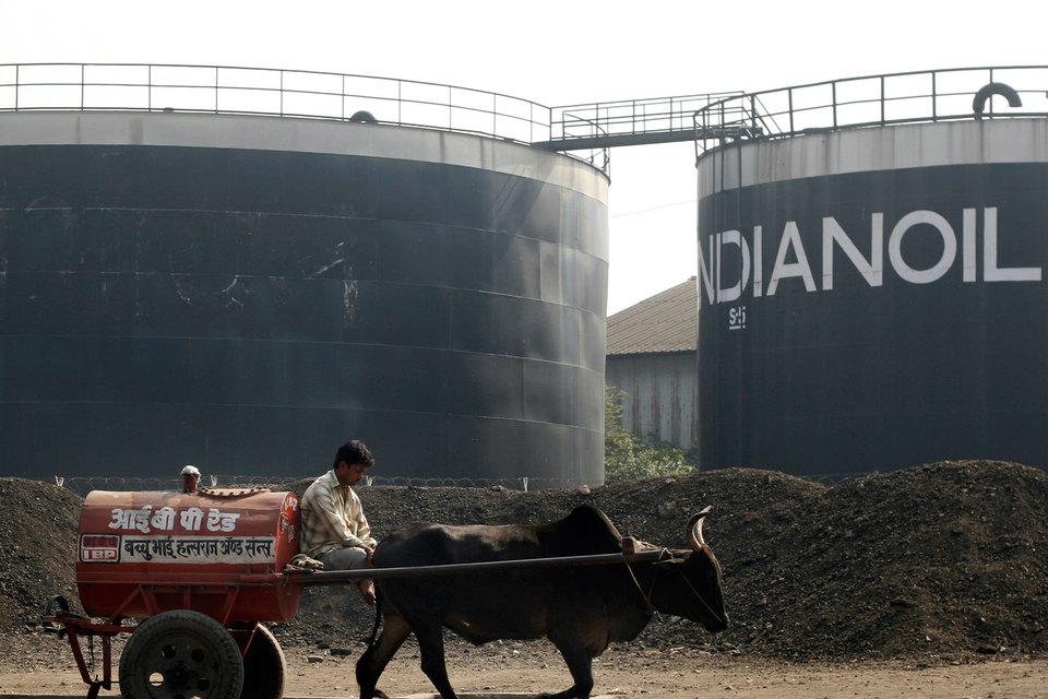 Нефтехранилища Indian Oil могут пополниться сибирской нефтью