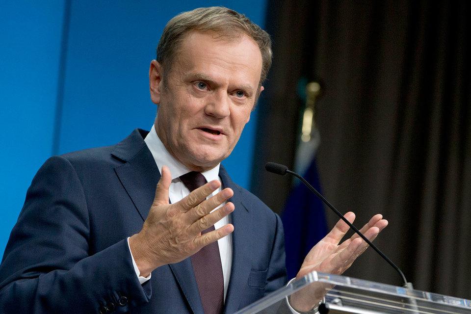 Против нового проекта выступают 10 стран ЕС, в том числе Польша (на фото премьер-министр Польши Дональд Туск)