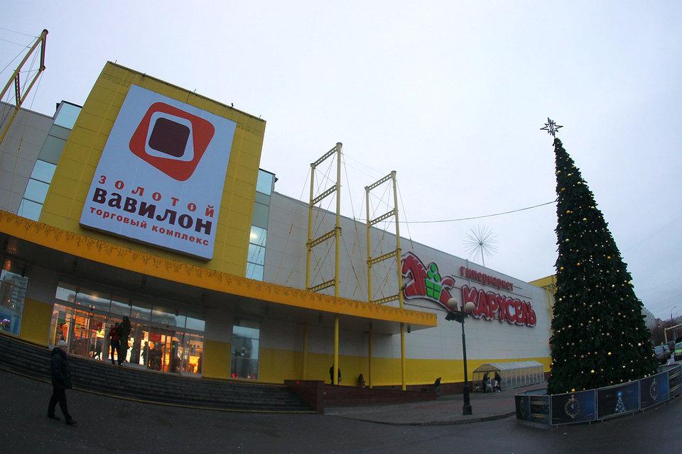 Торговый центр «Золотой Вавилон» в Отрадном отлично расположен – поблизости у него практически нет конкурентов