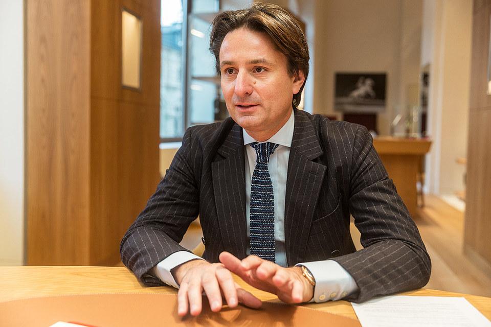Президент и генеральный директор Hermes International Аксель Дюма