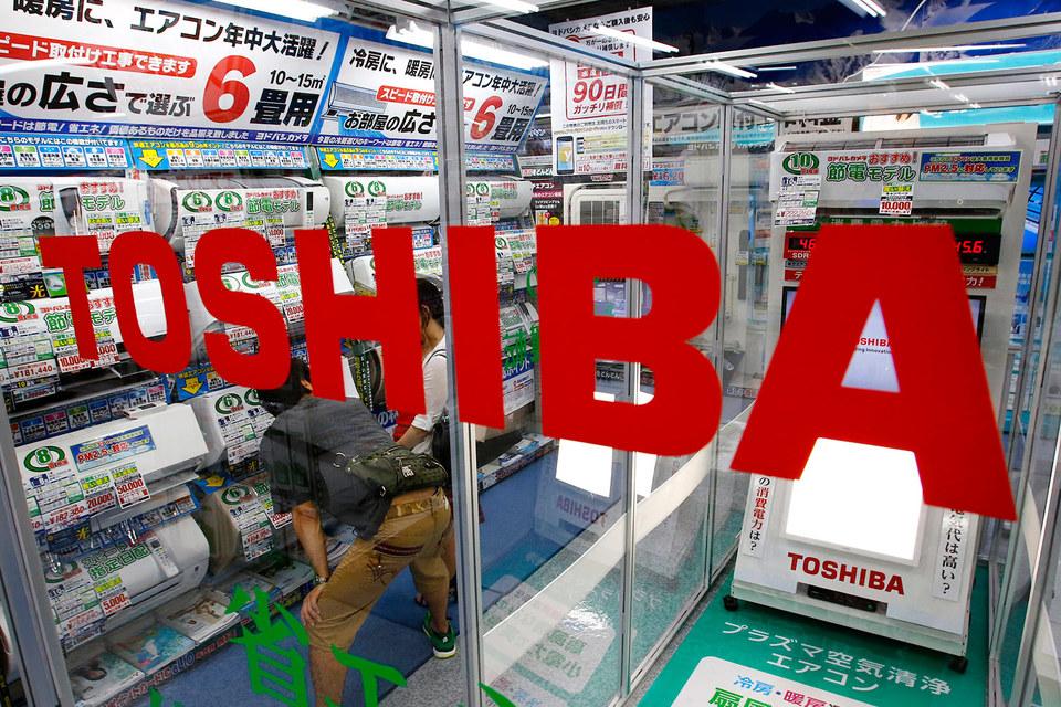 Toshiba в кризисе