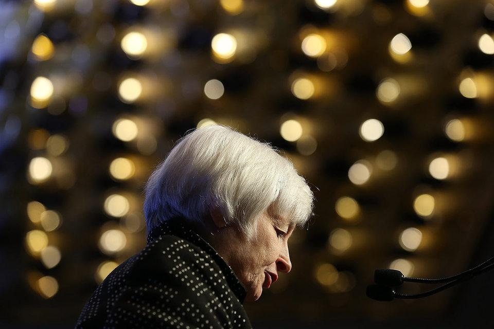 Председатель Федеральной резервной системы США (ФРС) Джанет Йеллен