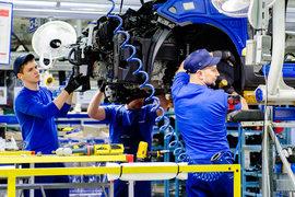 Завод Hyundai загружен почти полностью