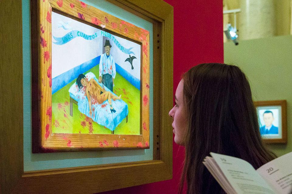 Из всех жанров живописи Фрида Кало предпочитала автопортреты