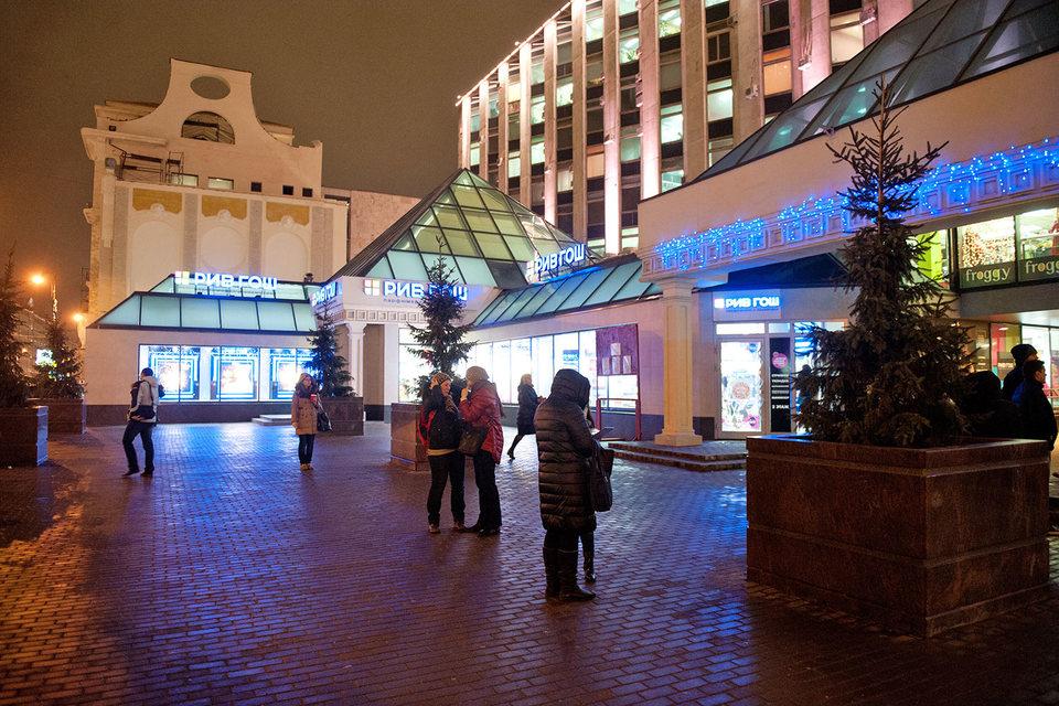Торговый центр «Пирамида» у метро «Пушкинская» тоже признан столичными властями самостроем