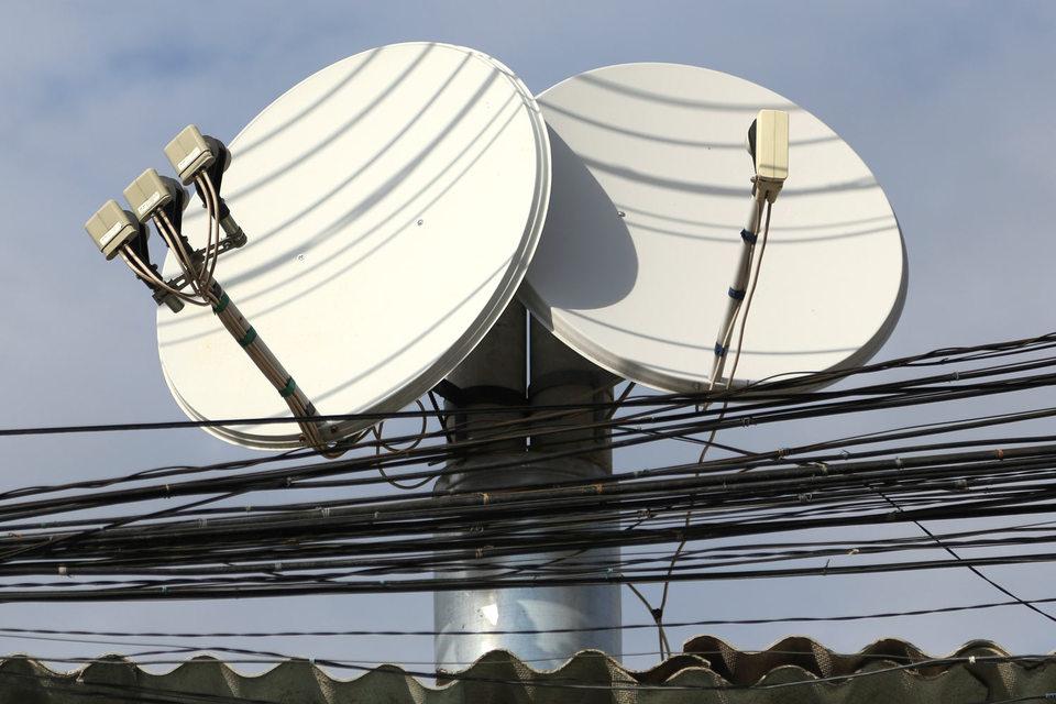 Спутниковый интернет используется там, где нет проводного