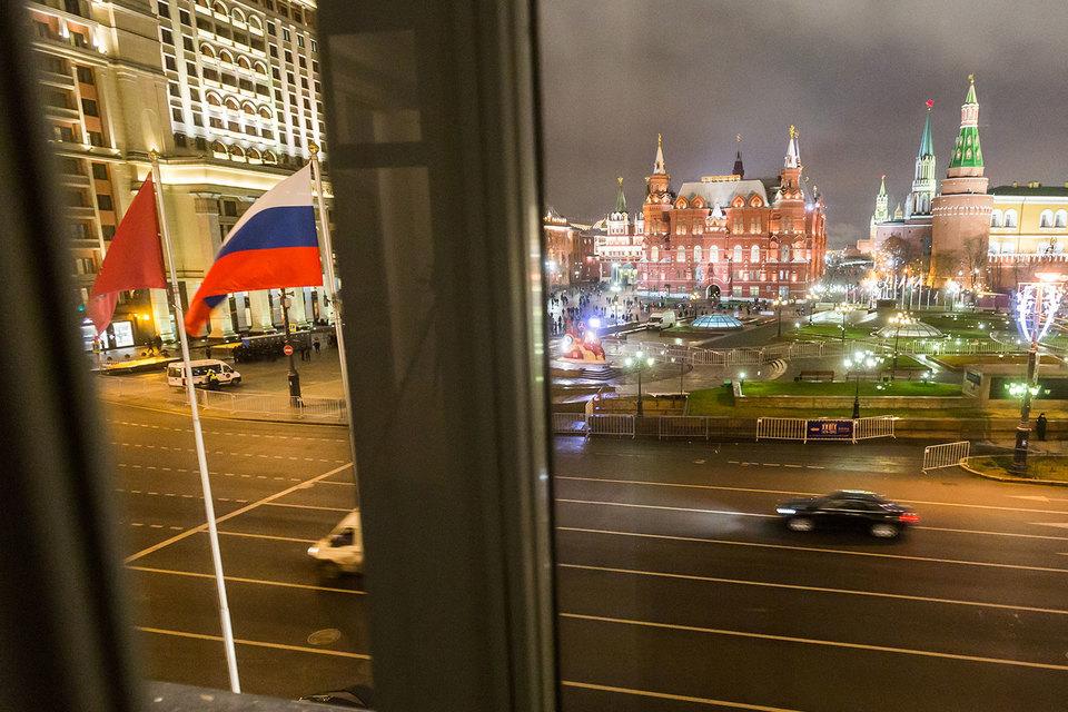 Обвал рубля не спровоцировал роста цен на номера в московских отелях в 2015 г.