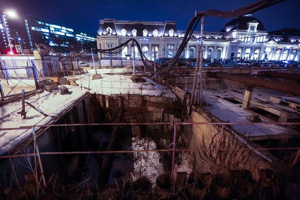 Планы строительства транспортно-пересадочного узла на Павелецкой уперлись в привокзальный забор