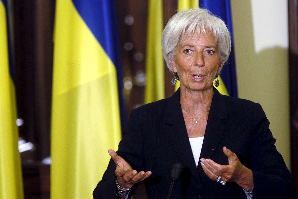 """""""Руководству Украины совершенно необходимо действовать немедленно, чтобы вернуться на многообещающий путь реформ"""", - говорится в заявлении Лагард"""