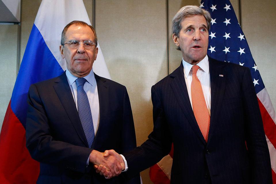 Лавров и Керри признают, что мюнхенское соглашение - это пока слова на бумаге