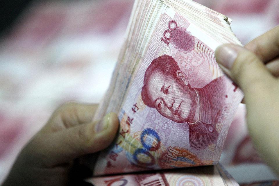 В первый день после китайских новогодних каникул юань резко подорожал
