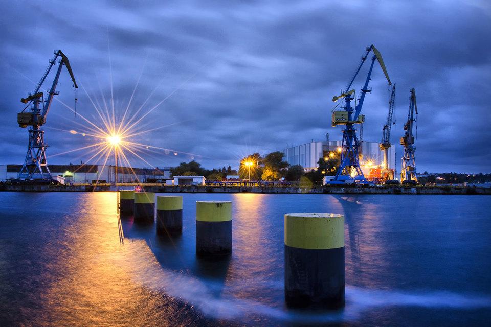 Nordic Yards Holding GmbH была создана в 2009 г. для покупки двух банкротящихся судостроительных верфей в Германии – в Висмаре (на фото) и Варнемюнде