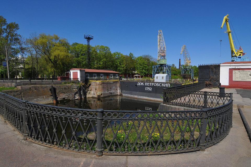 Проект музейного комплекса и Центра подводной археологии предполагается создать на базе сооружений «Дока Петра Великого»