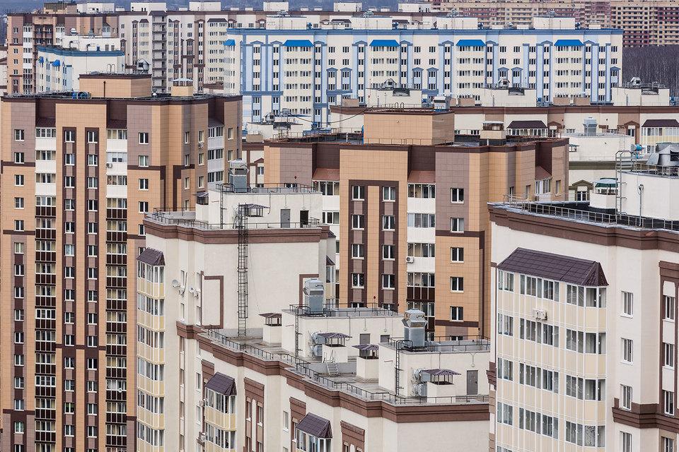 По данным Росстата, в Москве за 2015 г. было построено около 3,9 млн кв.м