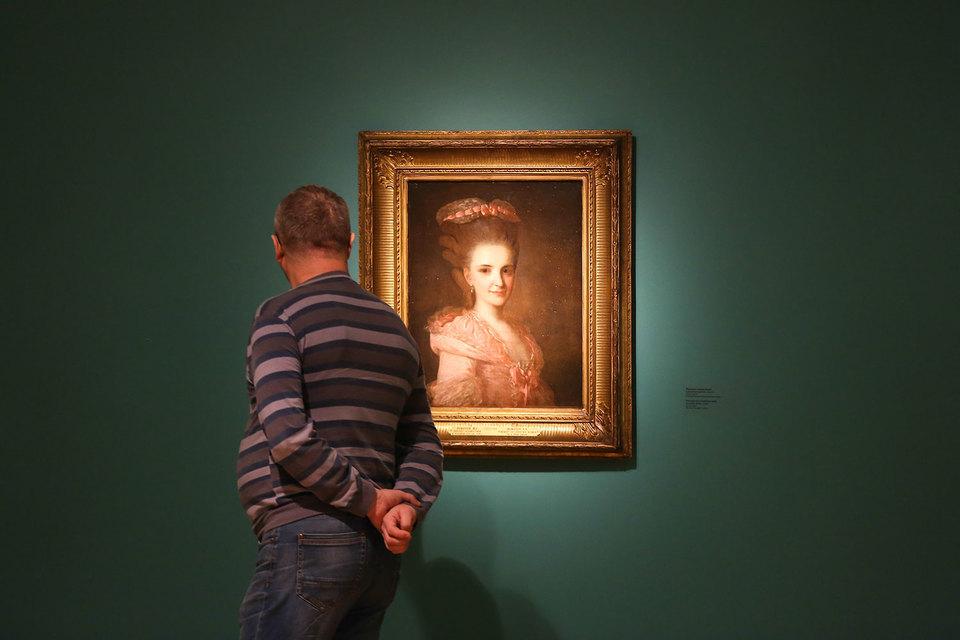 На выставке Рокотова кажется, что двести с лишним лет назад все люди были прекрасны