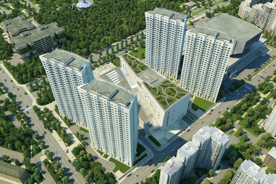 «Флотилия» - один из многофункциональных жилых комплексов, который сейчас строит «Грас»