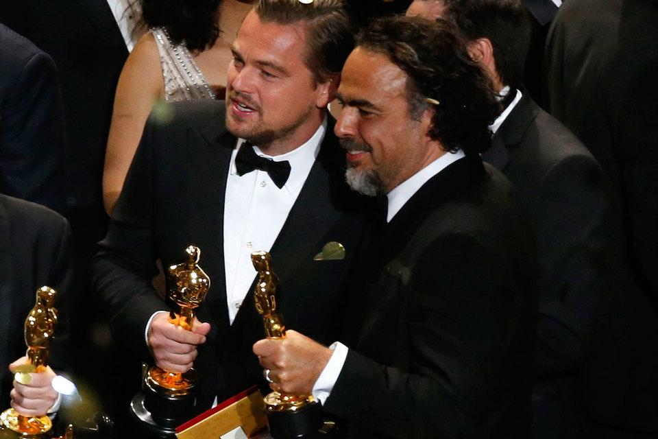 Ди Каприо получил «Оскара» за работу в фильме «Выживший»