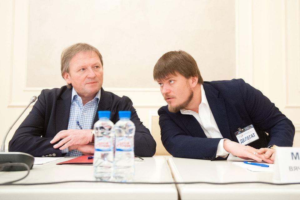 Вячеслав Маратканов (справа) поможет Борису Титову сделать ребрендинг партии