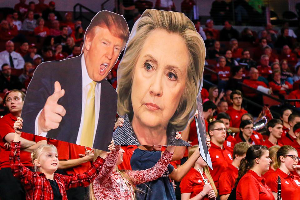 Трамп и Клинтон лидируют в предвыборной гонке