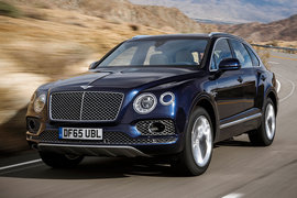 Bentley Bentayga управляется как большой устойчивый седан и ощущениям от езды похож на представительский седан