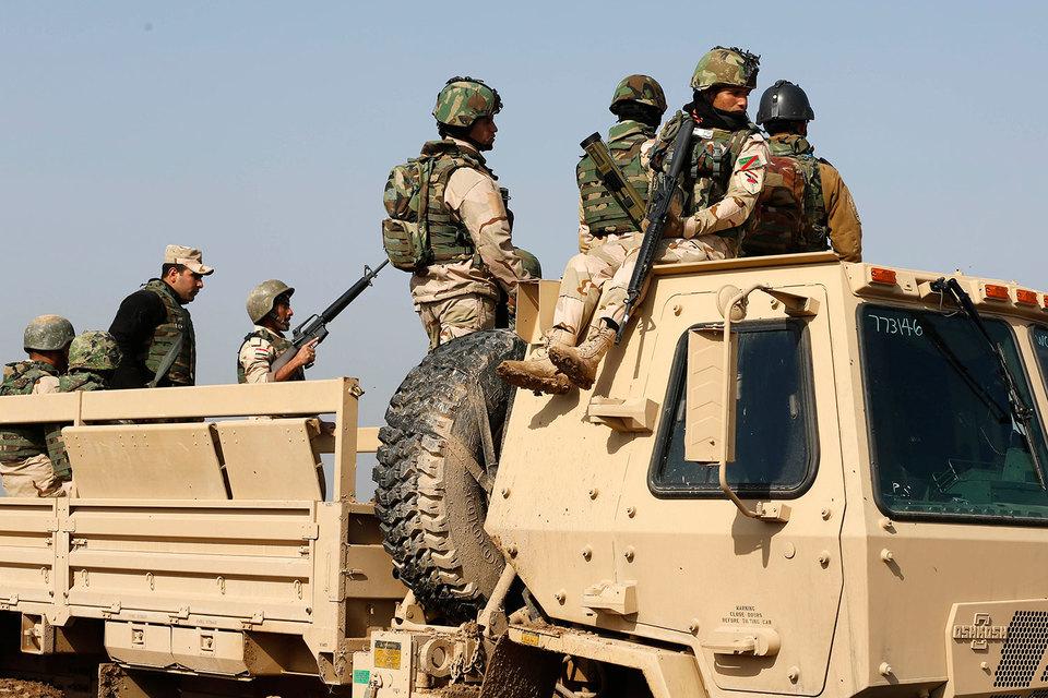 Сражение за Мосул уже началось, заявил представитель операции «Непоколебимая решимость» полковник Кристофер Гарвер