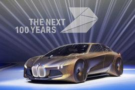 Концепт-кар BMW Vision Next 100 - вариант, как могут выглядеть баварские автомобили будущего, и есть несколько вариантов, какими дивигателями будут приводиться в движение эти машины