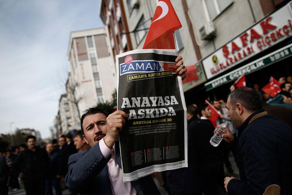 Турецкие власти перевели под внешнее управление крупнейшую ежедневную газету в стране – оппозиционное издание Zaman
