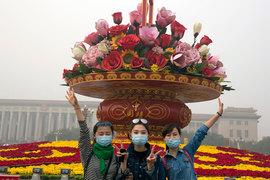 Загрязненность воздуха стала серьезной проблемой для крупных китайских городов