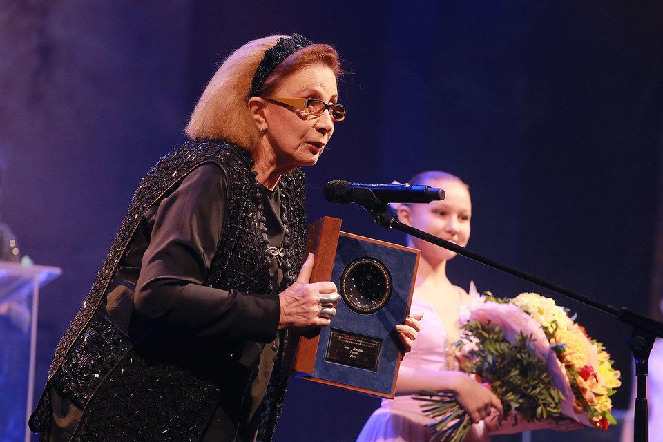 Актриса Алла Демидова получила на фестивале почетный приз «За вклад в мировой кинематограф»