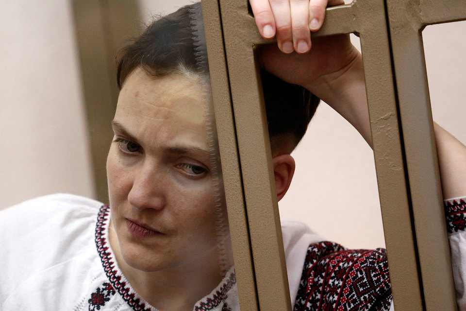 Савченко вину не признает, ее защита настаивает на оправдании