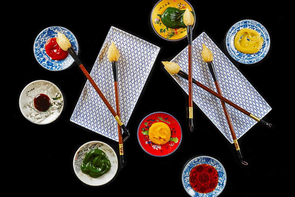 Одно из предложения Mandarin Oriental к ярмарке Art Basel – специальное арт-меню в ресторанах отеля