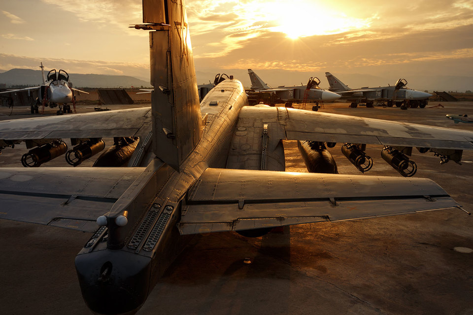 Примерно половина российской авиатехники готова отправиться из Сирии домой