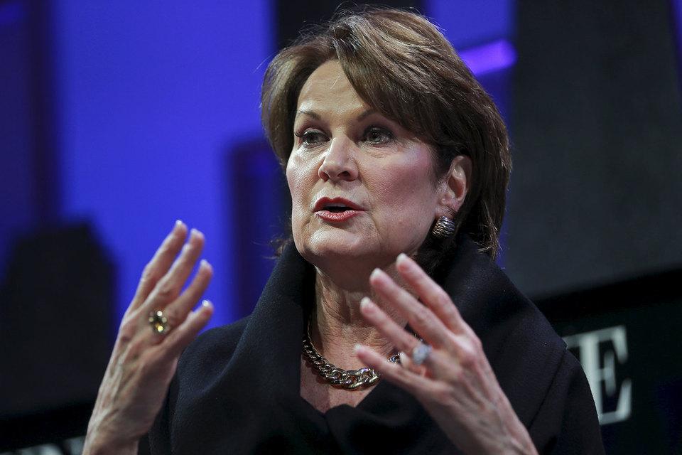 Мэрилин Хьюсон, генеральный директор Lockheed Martin, рассказала о военно-технологических прорывах возглавляемой ею компании