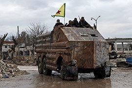 Самофедерализация курдов