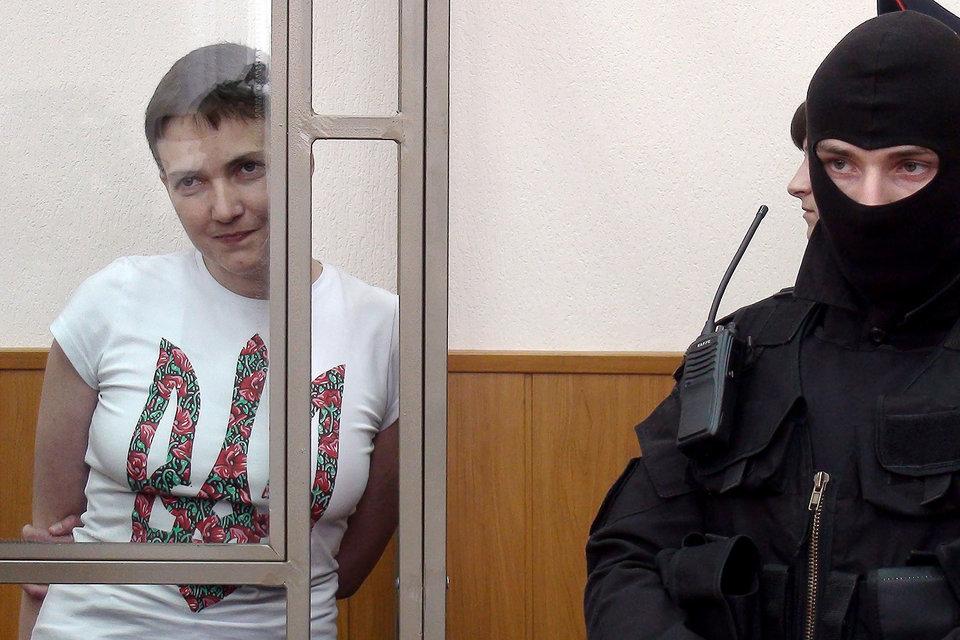 Увидеть Надежду Савченко в зале суда смогли не все желающие
