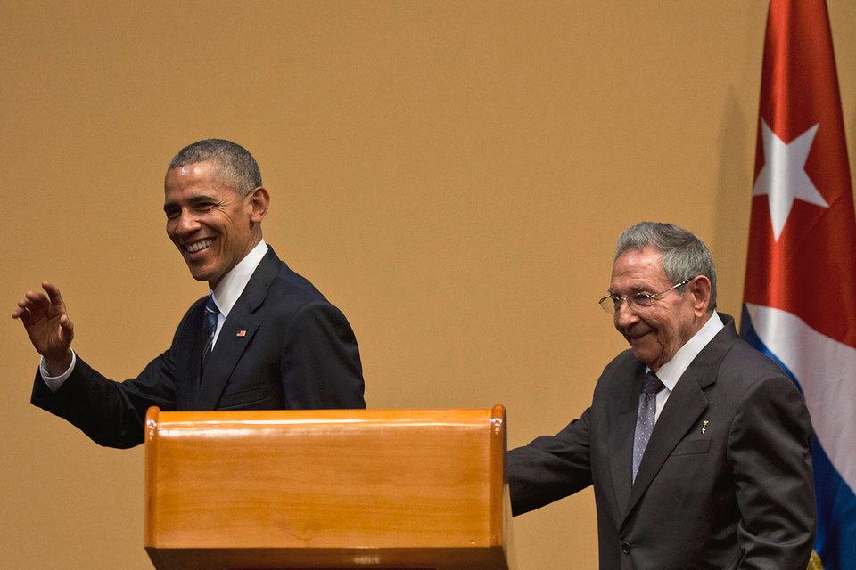 Барак Обама и Рауль Кастро объявили, что Вашингтон и Гавана намерены восстановить официальные дипломатические отношения
