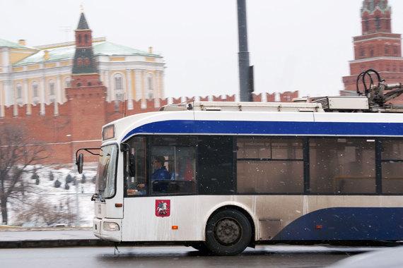 normal 187i Чиновники хотят оставить Тверскую без троллейбусов до Пушкинской площади