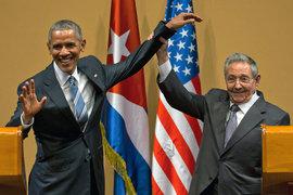 Исторический визит Барака Обамы на Кубу