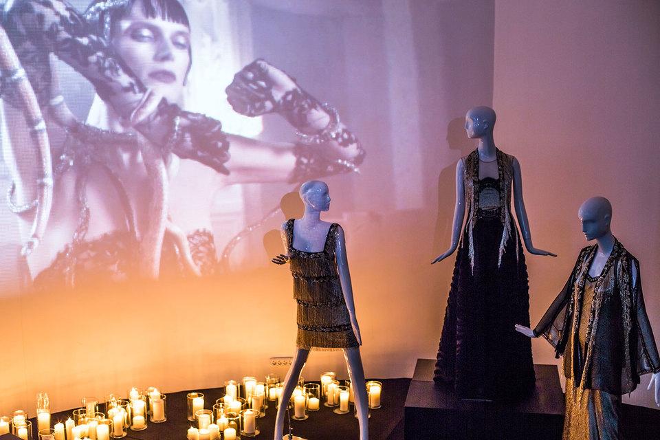 Коллекция вечерних нарядов Alberta Ferretti Limited Edition представлена на линии Петровского пассажа до 28 марта