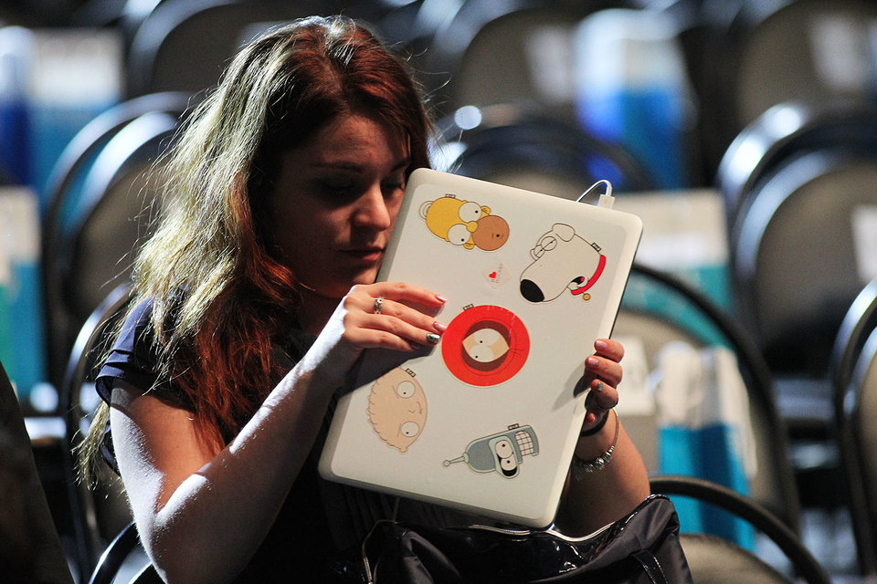 При попытке обновить программное обеспечение на iPad он зависает