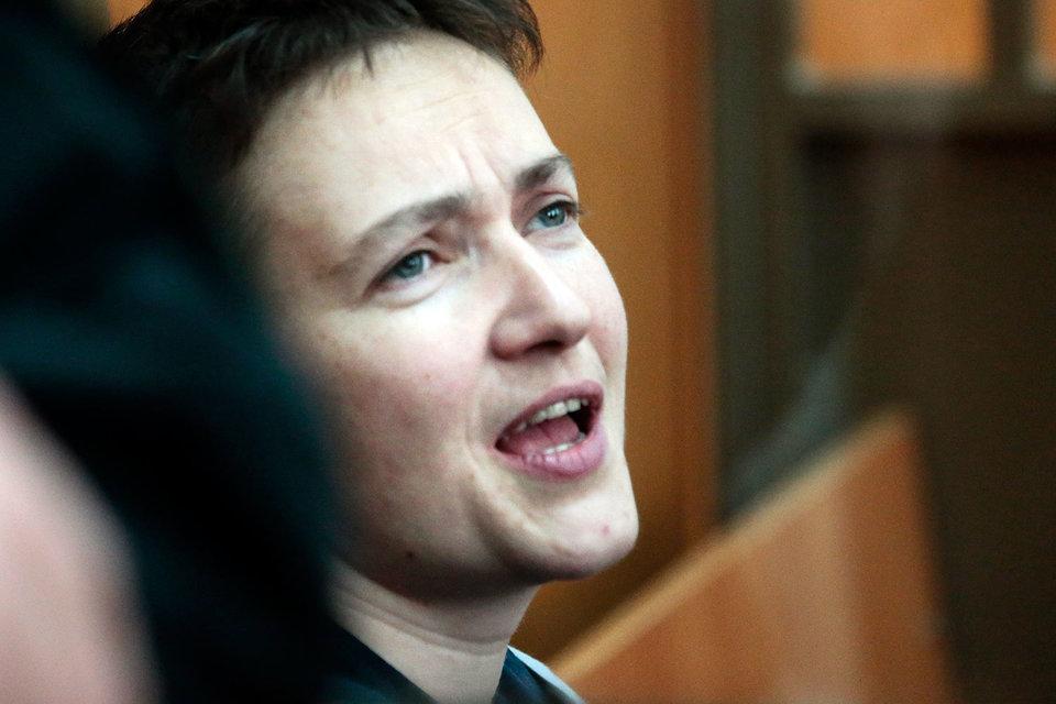 Надежда Савченко приговорена к 22 годам лишения свободы