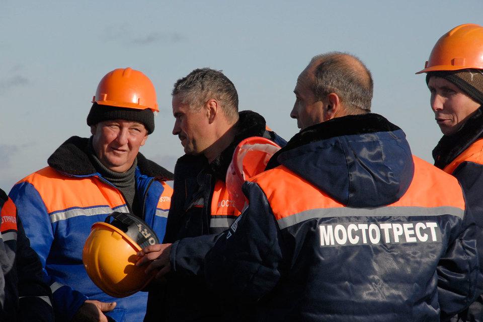 «Мостотрест» пришел в Крым