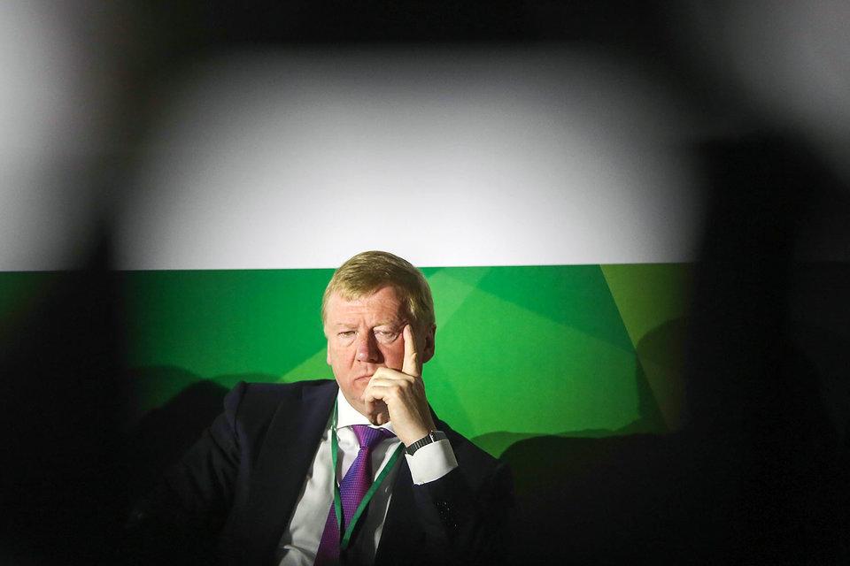 Председатель правления УК «Роснано» Анатолий Чубайс