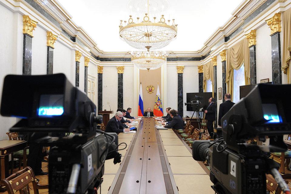 Первое обсуждение в Кремле споров между силовиками и бизнесом заняло не больше часа