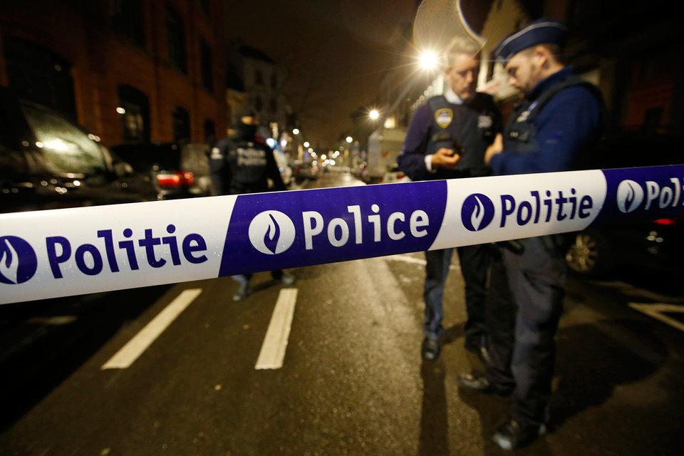 Полиция Брюсселя провела спецоперацию в коммуне Схербек