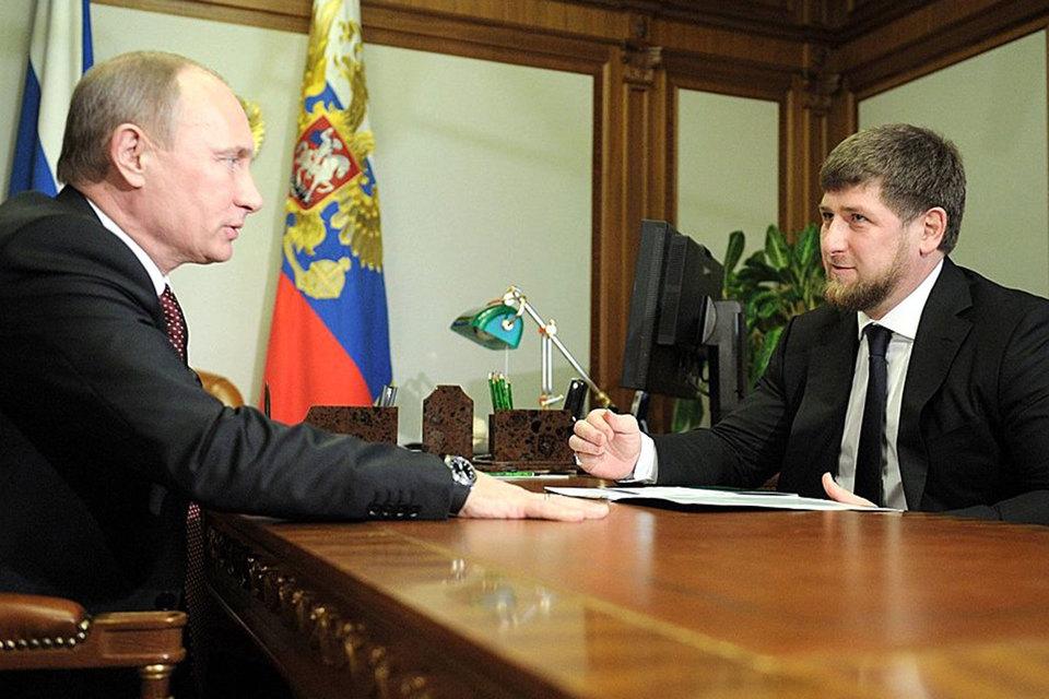 Предыдущая публичная встреча Путина и Кадырова состоялась 10 декабря прошлого года